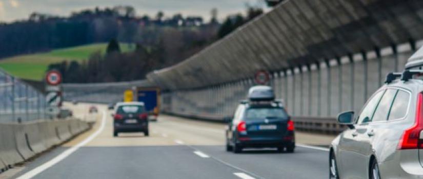 auto's over autobahn