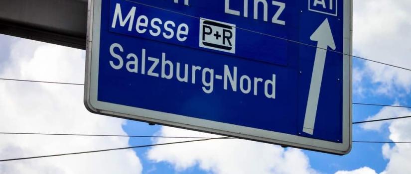 De snelwegen in Oostenrijk